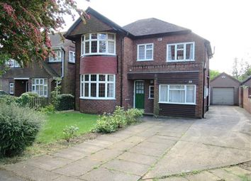 Thumbnail 4 bed detached house for sale in Vicarage Gardens, Scunthorpe