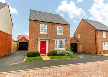Thumbnail 4 bed detached house for sale in Jakeman Way, Warwick