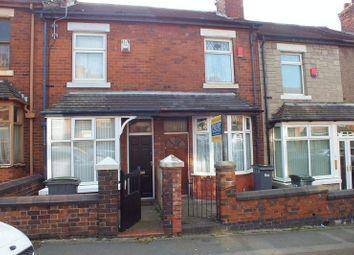 Thumbnail 2 bed terraced house for sale in Lorne Street, Burslem, Stoke-On-Trent