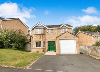 Thumbnail 4 bed detached house for sale in Vicarage Drive, Meltham, Holmfirth