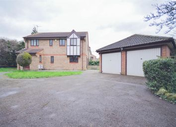 Thumbnail 4 bed detached house for sale in Whitacre, Peterborough