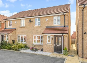 Thumbnail 3 bed semi-detached house for sale in Overend Avenue, Pocklington, York
