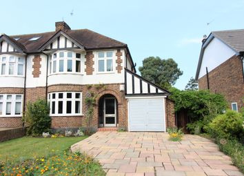 Thumbnail 3 bed semi-detached house for sale in Seymour Road, East Molesey