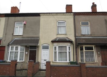 Thumbnail 2 bed terraced house for sale in Shireland Road, Edgbaston, Birmingham