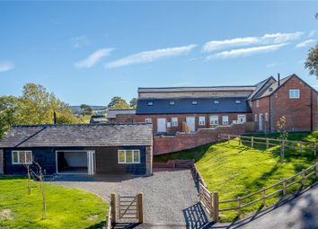 Thumbnail 2 bedroom barn conversion for sale in Plot 5, Upper Pen Y Gelli Farm, Kerry, Powys