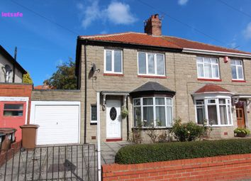 Thumbnail 3 bed semi-detached house to rent in Haig Avenue, Whitley Bay
