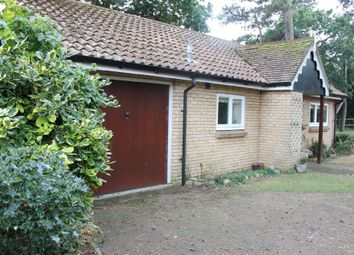 Thumbnail 2 bedroom detached bungalow for sale in Oaklands, Lowestoft Road, Reydon, Southwold