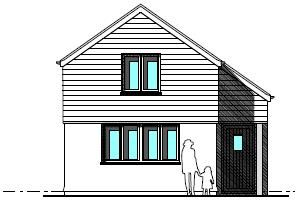 Thumbnail 2 bed detached house for sale in College Lane, Treskerby
