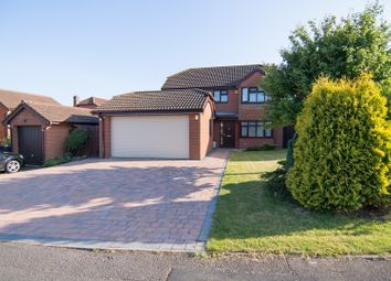 Thumbnail 4 bed detached house for sale in Clowes Drive, Telford
