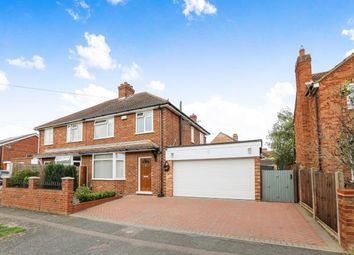 Thumbnail 3 bed semi-detached house for sale in South Avenue, Elstow, Bedford, Bedfordshire