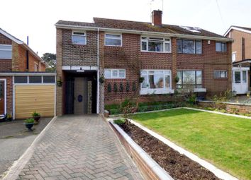 Thumbnail 3 bed semi-detached house for sale in Bassett Green Road, Southampton