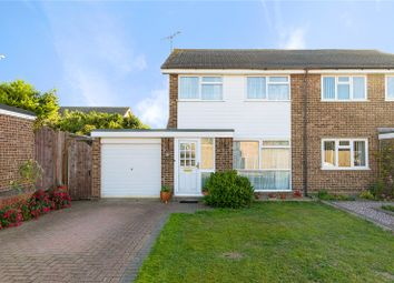 Thumbnail 3 bed semi-detached house for sale in Towncroft, Chelmsford, Essex