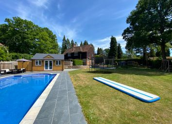Thumbnail 4 bed detached house for sale in Lawfords Hill Road, Worplesdon, Guildford