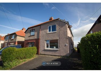 Thumbnail 3 bed semi-detached house to rent in Lordsome Road, Morecambe