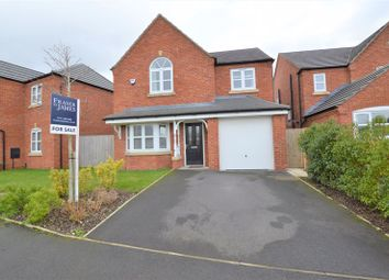 Thumbnail 4 bed detached house for sale in Peak Place, Hyde