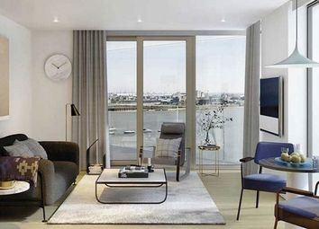 Thumbnail 2 bed flat for sale in Peninsula Square, London