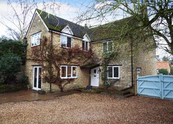 Thumbnail 4 bed detached house for sale in Gold Street, Podington, Northamptonshire