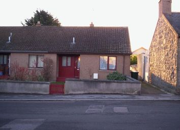 Thumbnail 1 bed semi-detached bungalow to rent in Church Street, Moray, Lossiemouth