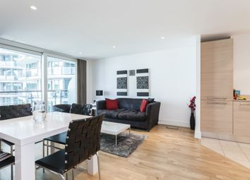 Thumbnail 2 bedroom flat to rent in Kestrel House, St George Wharf, Vauxhall, London