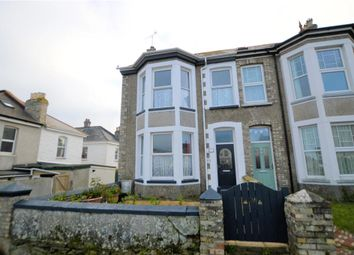 Thumbnail 4 bed semi-detached house for sale in Springfield Road, Newquay, Cornwall