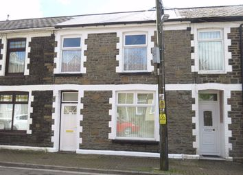 Thumbnail 3 bed terraced house to rent in Llwynmadoc Street, Pontypridd