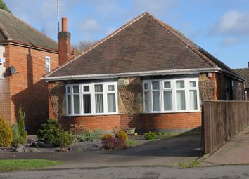 Thumbnail 4 bed detached bungalow for sale in Tutbury Road, Horninglow, Burton-On-Trent