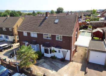 Thumbnail Semi-detached house for sale in Rowan Close, Aylesford