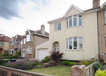 Thumbnail 3 bed semi-detached house for sale in Riviera Crescent, Staple Hill, Bristol
