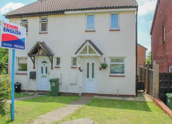 Thumbnail 2 bed semi-detached house for sale in Horkesley Way, Wickford