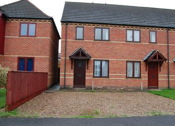 Thumbnail 2 bed semi-detached house to rent in Elizabeth Court, Sleaford