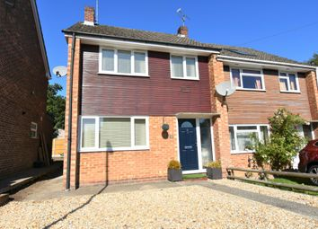 Thumbnail 3 bed semi-detached house for sale in Fawconer Road, Kingsclere, Newbury