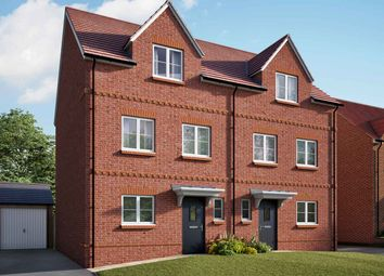 "Thumbnail 4 bed semi-detached house for sale in ""The Aldridge"" at Hyde End Road, Shinfield, Reading"
