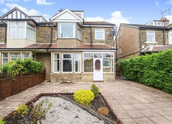 Thumbnail 5 bed semi-detached house for sale in Grove Road, Shipley