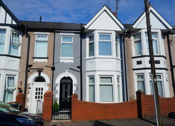 Thumbnail 3 bed terraced house for sale in Rochester Road, Newport