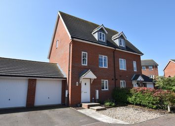 Thumbnail 3 bed semi-detached house for sale in Rose Court, Red Lodge, Bury St. Edmunds, Suffolk