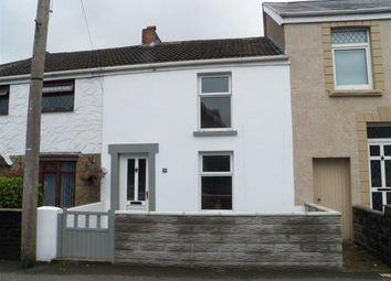 Thumbnail 2 bed terraced house for sale in Llangyfelach Road, Brynhyfryd, Swansea