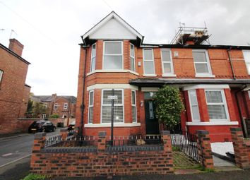 Thumbnail 3 bed end terrace house for sale in Roseneath Road, Urmston, Manchester