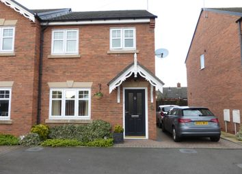 Thumbnail 3 bed semi-detached house for sale in Conway Road, Cannock