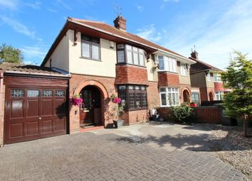 Thumbnail 4 bed semi-detached house for sale in Connaught Avenue, Gorleston, Great Yarmouth