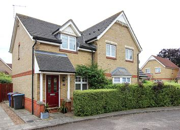 Thumbnail 2 bedroom end terrace house for sale in Heasman Close, Newmarket
