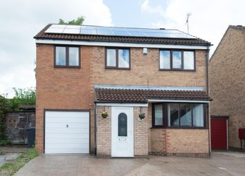 Thumbnail 4 bed detached house for sale in Highland Road, New Whittington, Chesterfield