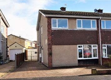 Thumbnail 3 bed semi-detached house for sale in Milford Avenue, Wick