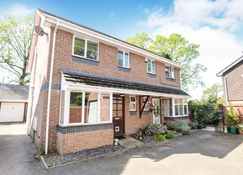 Thumbnail 3 bed semi-detached house for sale in Church Road, Three Legged Cross, Wimborne