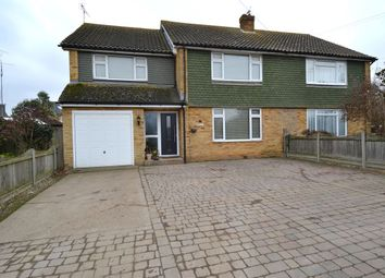 Thumbnail 5 bed semi-detached house for sale in Clifford Road, Whitstable