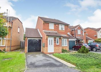 Thumbnail 3 bed detached house for sale in Aintree Close, Branston, Burton On Trent, Staffordshire