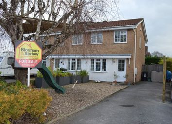 Thumbnail 3 bed semi-detached house for sale in Meadowbank, Worle, Weston-Super-Mare