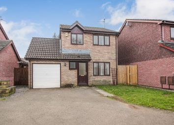 Thumbnail 3 bed detached house for sale in Willowherb Close, St Mellons