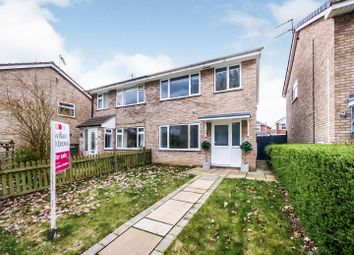 Thumbnail 3 bed semi-detached house for sale in Thornhills, Haxby, York