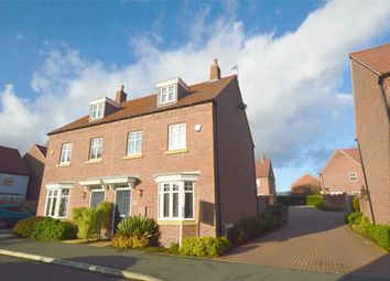 Thumbnail 3 bed semi-detached house for sale in Sedge Road, Coton Meadows, Rugby, Warwickshire