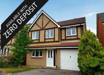 Thumbnail 4 bed detached house to rent in Fyfield Close, Whiteley, Fareham